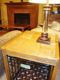 How To Build A End Table Dog Crate by Dog Crate Enclosure Hometalk