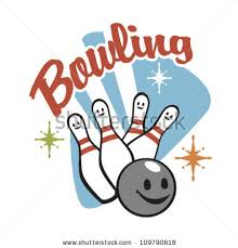 Bowling clipart silly Pencil and in color bowling clipart silly