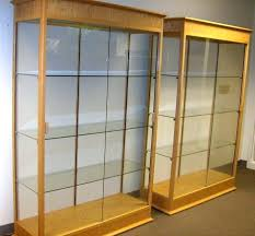 beautiful glass wall cabinet display cabinet with glass doors
