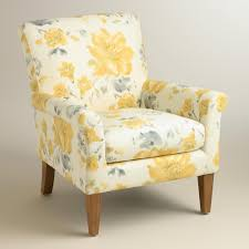 World Market Luxe Sofa Slipcover by Yellow Fleurs Estelle Chair Living Rooms Decorating And Room