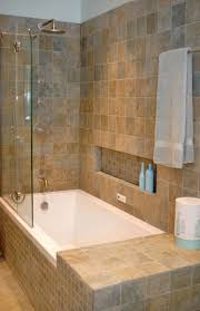 bathroom traditional bathroom design with rectangular white tub
