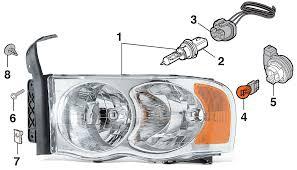headlight 2002 05 dodge ram 15002003 05 dodge ram 25002003 05