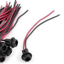 20 pcs car truck t10 w5w 194 led light bulb socket pre wired