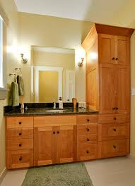 Shaker Cabinet Knob Placement by Cabinet Knob Placement With Shaker Style Bathroom Craftsman And