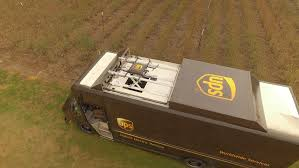 UPS Unveils Drone-launching Delivery Truck