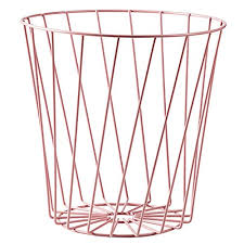 acdrx papierkorb büro badezimmer rosegold 8l eleganter