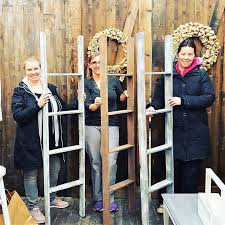 Milton Pumpkin Festival Pageant by Rustic Blanket Ladder Workshop At The Barn Door Studio Milton