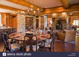 runde hölzerne esszimmer tisch 8 stühle küche insel