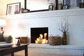 Paint Colors Living Room Red Brick Fireplace by Red Brick Fireplace Makeovers Home Fireplaces Firepits
