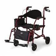 Bariatric Transport Chair 24 Seat by Wheelchairs Products Medline Industries Inc