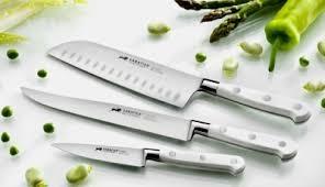 coutellerie cuisine couteaux de cuisine forgés sabatier ideal toque blanche