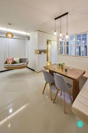 100 Flat Interior Design Images Under 40000 8 NonBasic 4Room HDB Renovations We Love