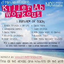 Southern In Law Killer 10 Minute Ab Workout