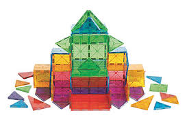 Valtech Magna Tiles 100 by Magna Tiles Clear Colors 100 Pc Set