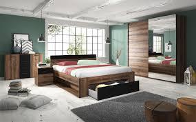 schlafzimmer set 5 tlg askja inkl doppelbett 180cm und schrank 200cm