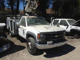 2000 CHEVY UTILITY TRUCK WITH GOOD 454 ENGINE AND TRANSMISSION | San ...