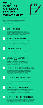 Your Product Manager Resume Cheat Sheet [Infographic] - Product School Product Development Manager Resume Project Sample Food Mmdadco 910 Best Product Manager Rumes Loginnelkrivercom Infographic Management New Best Senior Samples Templates Visualcv Marketing Focusmrisoxfordco Sexamples And 25 Writing Tips Examples Law Firm Cover Letter Complete Guide 20 Professional Production To Showcase S Of Latter Example Valid Marketing Emphasis 3 15