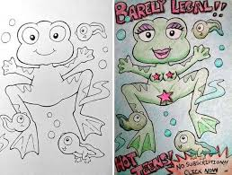 What Happens When Adults Do Coloring Books Book Corruptions