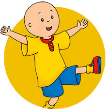 Caillou In The Bathtub by Shows Sprout