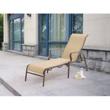 Stacking Sling Patio Chairs by Room Essentials Stack Sling Patio Lounge Chair Tan Ebay