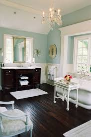 Beautiful Colors For Bathroom Walls by Those Floors Are So Fab Bathroom Love Pinterest Dark Wood