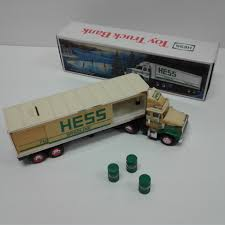 100 Hess Toy Truck Values Vintage HESS Bank 1987 EBay