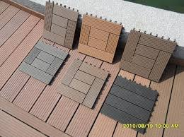 wood plastic composite diy easy decking tiles edt meisen