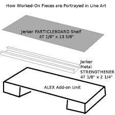 Ikea Fredrik Desk Assembly by Add Custom Drawers To Your Ikea Jerker Desk With Ikea Alex Add On