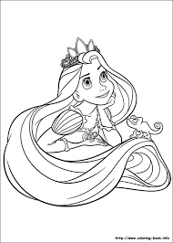 Shining Ideas Coloring Pages Rapunzel Colouring Pdf 13 Beautiful Page To Print Color Craft Downloads