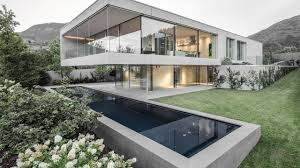 100 Concrete Residential Homes Luxury Modern Concrete House In Trento Timelapse