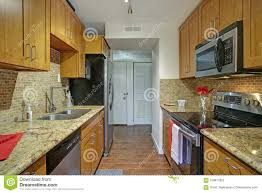 100 Appliances For Small Kitchen Spaces Galley Design With Black Stock