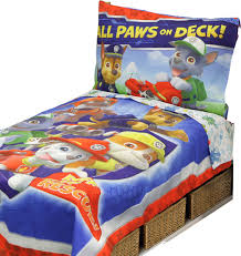 Betesh Group Paw Patrol Toddler All Paws on Deck forter and