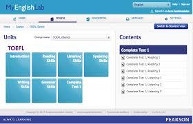 MyEnglishLab For The TOEFL IBT Test Practice Tests