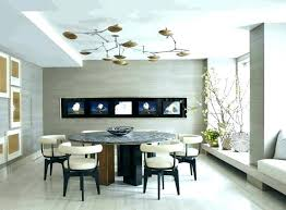 Living Room Art Ideas Dining Wall Modern Decor Metal And Leather Chairs