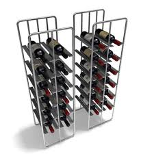 Metal Wine Rack 3D