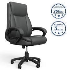 Amazon.com: Mysuntown Executive Office Chair, Bonded PU Leather ... Amazoncom Aingoo Big And Tall Executive Office Chair Vintage Brown Alera Ravino Series Highback Swiveltilt Leather Best Unique Doblepiel Mayline Comfort 6446ag With Pivot Arms Lazboy Elbridge Center Shop For Vanbow Recling High Ofm In Vl685 Ld Products Star Proline Ii Deluxe Back Chairs Bonded Padded Flip Ergonomic Pu Task Titan