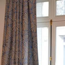 rideaux prets a poser rideau prêt à poser nympheas thévenon décoration cloudy