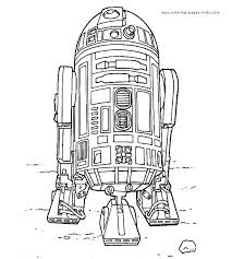 Star Wars Color Page Cartoon Characters Coloring Pages Plate Sheet