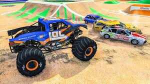 100 Monster Truck Crashes Crushing Cars Jumps Accidents Fails 1