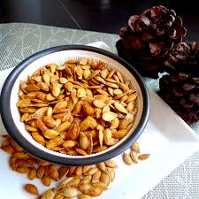 Toasting Pumpkin Seeds In Microwave by Crispy Toasted Pumpkin Seeds Recipe Kitchenbowl