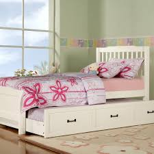 Wonderful White Twin Bed With Trundle Kskradio Beds White Twin