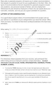 Character Reference Letter Job Personal Recommendation Letter Examples