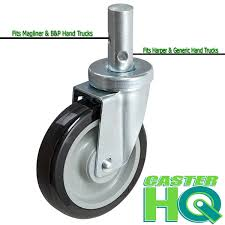 100 Harper Hand Truck 5 UNIVERSAL HAND TRUCK REPLACEMENT CASTER 350 LBS CAPACITY