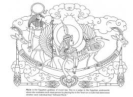 Dover Publishing Goddesses Adult Coloring PagesColoring BooksEgyptian