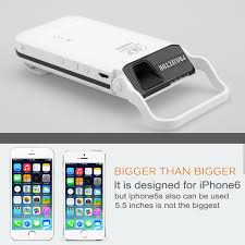 Iphone Projector UBFU E445 HDMI DLP Pocket Projector For IPhone 6