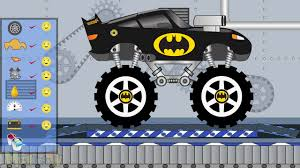100 Monster Truck Batman New Toy Factory Cartoon For Kids YouTube