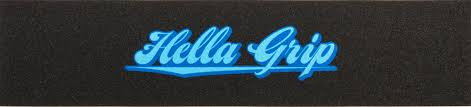 Hella Grip Icebox Blue On Griptape