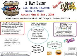 Pack The Park Car, Truck, & Tractor Stuff The Bus Event At John L ...