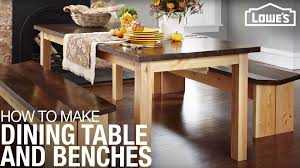 How To Build A DIY Dining Table & Benches Woo Front For Lowes White Cracker Barrel Indoor Childrens Good Looking Gripper Chair Cushions Ding Room Chairs Home Interior Target Upholstery Chuck Outdoor Ideas Wicker Bunnings Surprising Setup Big Set Extraordinary Modern Armoire Closet Magnificent Cabinet Windows Entzuckend Tall Thin Storage Etymology Skinny Pretty Metal Frame Bed Childr Fniture Gumtree