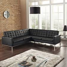 Italsofa Black Leather Sofa by Best 25 L Shaped Leather Sofa Ideas On Leather L